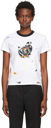 Lanvin White & Multicolor Gallery Dept. Edition Mother & Daughter T-Shirt