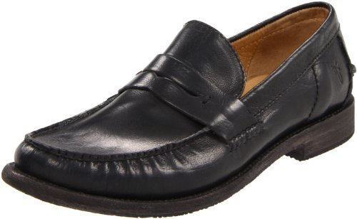 Frye Men's Otis Penny Slip-On,Black,11 M US