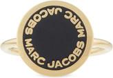 Marc Jacobs Enamel logo disc ring