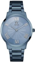 GUESS Blue Polished Diamond Watch