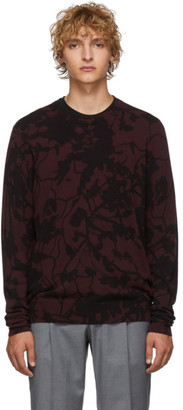 Etro Burgundy Floral Sweater