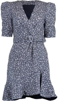 Jonathan Simkhai Evelyn Floral Crepe Dress
