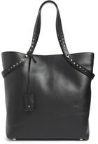 Valentino Lovestud Leather Tote - Black
