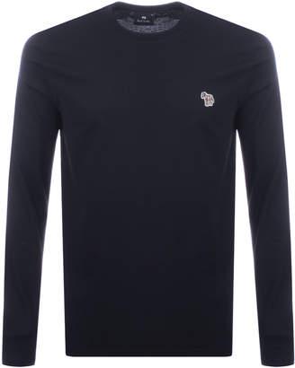Paul Smith Long Sleeve T Shirt Navy