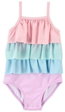 Carter's Baby Girl Ruffle Swimsuit