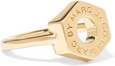 Marc by Marc Jacobs Bolt gold-tone ring