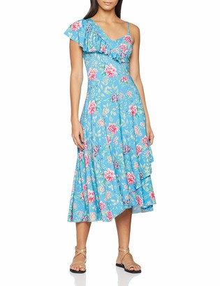 Joe Browns Women's All The Frills Floral Maxi Dress