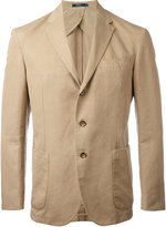 Polo Ralph Lauren classic blazer - men - Cotton/Linen/Flax/Lyocell/Viscose - 40