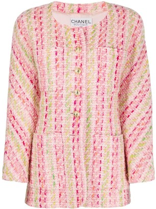 Chanel Pre Owned 1990s Boucle Tweed Jacket