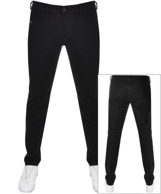 Diesel D Bazer Tapered Fit Jeans Black