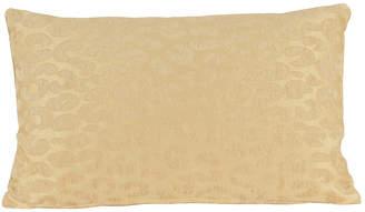 """Thro Gabriel Jacquard Cheetah Pillow, 12"""" x 20"""""""