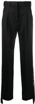Stella McCartney Tape Detail Straight Trousers