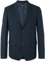 A.P.C. two button jacket - men - Cotton/Polyamide/Viscose - M