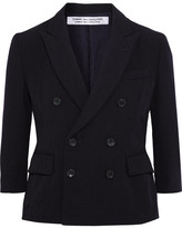 Comme des Garcons Double-breasted Wool Blazer - Black