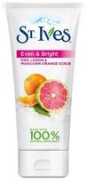 St. Ives Even and Bright Pink Lemon and Mandarin Orange Scrub 6 oz
