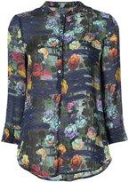 Raquel Allegra floral print shirt