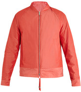 Balenciaga Cotton-blend bomber jacket