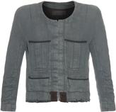 Haider Ackermann Nakhu linen and cotton-blend jacket