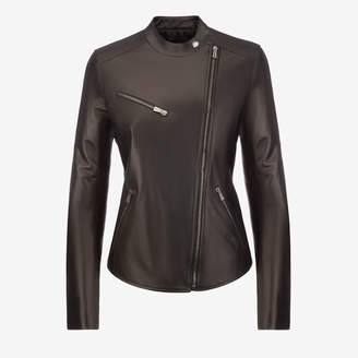 Bally Ladies Leather Biker