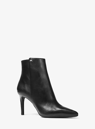 Michael Kors Dorothy Flex Leather Ankle Boot