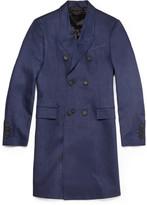 Burberry Prorsum Slim-Fit Linen Overcoat