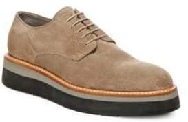 Vince Drystan Leather Platform Oxfords