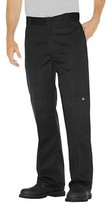 Dickies Men's Loose Straight Fit Twill Double Knee Work Pants with Extra Pocket