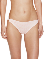 Shoshanna Adelaide Pink Crochet Ring Bikini Bottoms