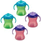 NUK Gerber Graduates 4-pk. 7-oz. Fun Grips Sippy Cups by