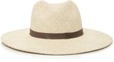 Janessa Leone Gloria Wide Brimmed Panama Hat