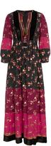 Ulla Johnson Suzana Floral Patchwork Dress