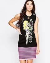 Love Moschino Surfer Sleeveless T-Shirt