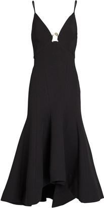 Acler Marine Sleeveless Midi Dress