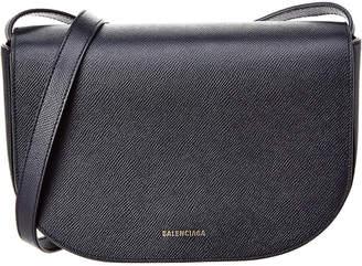 Balenciaga Ville Aj Small Leather Shoulder Bag