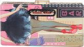 Nicole Lee Women's Dark City Print Wallet