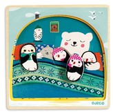 Djeco Toddler 3-Layer Wooden Igloo Puzzle