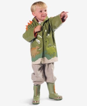 Kidorable Dinosaur Raincoat, Toddler Boys