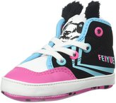 Feiyue Delta Mid Animal F15 (Infant) - Black-4 Infant