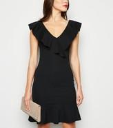 New Look Frill Trim Mini Bodycon Dress