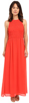 MICHAEL Michael Kors Smock Halter Maxi Dress