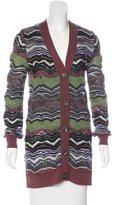 M Missoni Button-Up Wool Cardigan