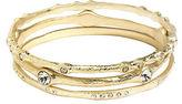 ABS by Allen Schwartz Rhinestone-Accented Bracelet Set