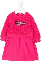 Little Marc Jacobs furry jumper dress