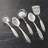 Crate & Barrel Stainless Steel Utensils