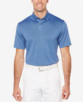 PGA TOUR Men's Mini-Geo Textured Golf Polo