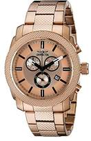 Invicta Men's 18015 Specialty Analog Display Swiss Quartz Rose Gold Watch