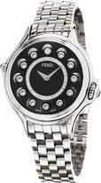 Fendi Women's F107021000D2T05 Crazy Carats Analog Display Swiss Quartz Silver Watch