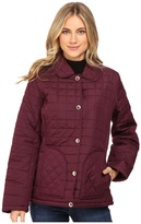 KC Collections Box Quilted Barn Jacket