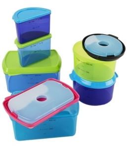 Fit & Fresh Kids 14 Piece Reusable Container Set