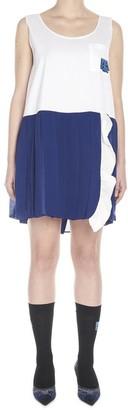 Prada Pleated Skirt Mini Dress